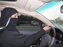 В Саудовской Аравии арестовали женщину за вождение автомобиля
