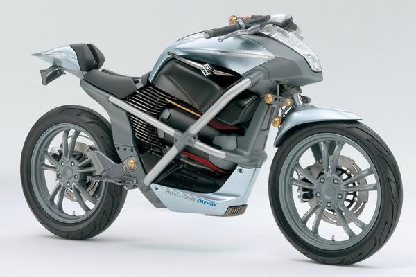 Suzuki обещает мотоциклы на тепловом элементе