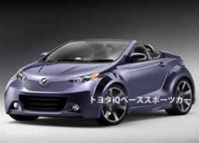 Компактный родстер на базе Toyota iQ может появиться уже в следующем году