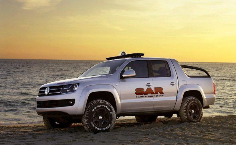 Volkswagen готовит новый пикап Amarok